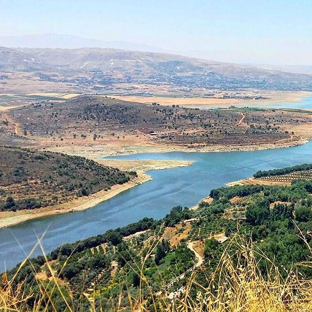 remembering moments❤💕 (Qaraoun Lake, Bekaa)