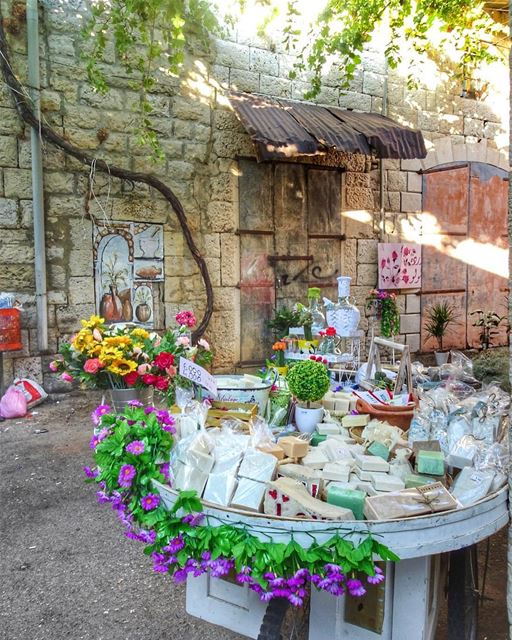 Soap and Goodies for Sale!(Douma, Liban-Nord, Lebanon)