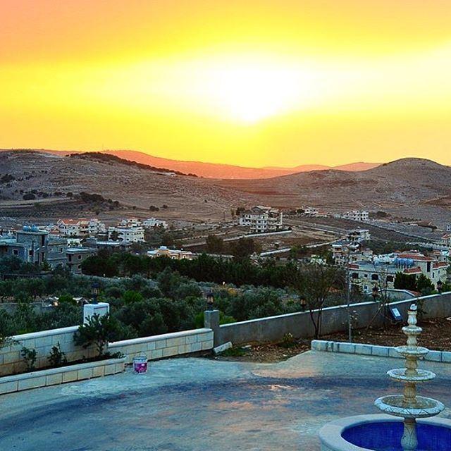 Sunset at Yaroun