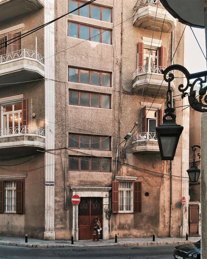 Streets of Beirut Beirut architecture (Achrafieh, Beirut)