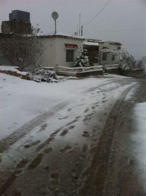 Yaroun Snow Storm 12/13/2013