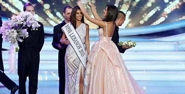 Valerie Abou Chacra Miss Lebanon 2015