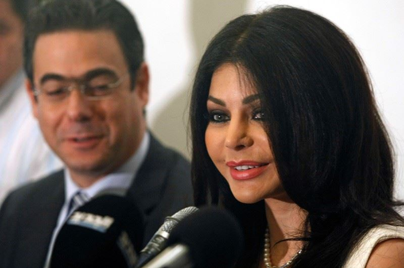 Haifa is the New Communication Ambassador  for humanitarian issues for Lebanon