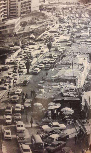 Beirut Raouche 1977