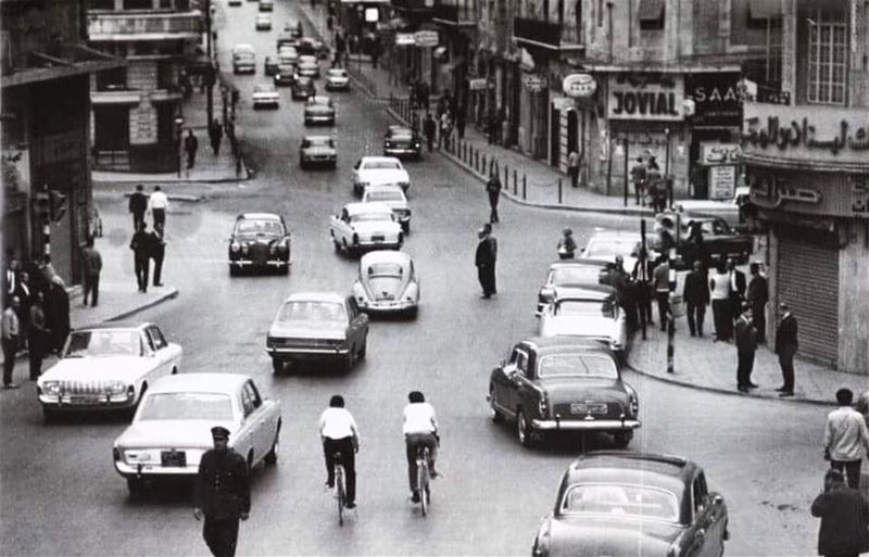 Beirut Weygand Street 1971