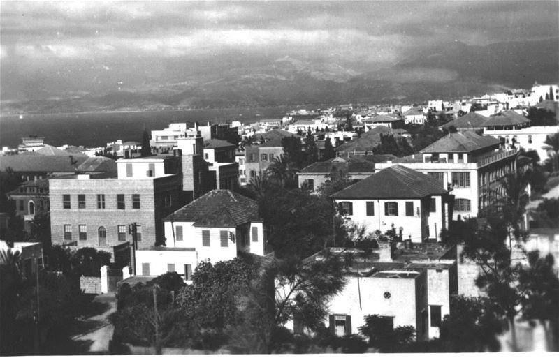 American University of Beirut 1940s