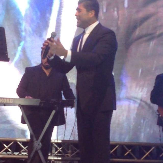 قوة صوت الملك في مهرجانات اهمج waelkfoury_news