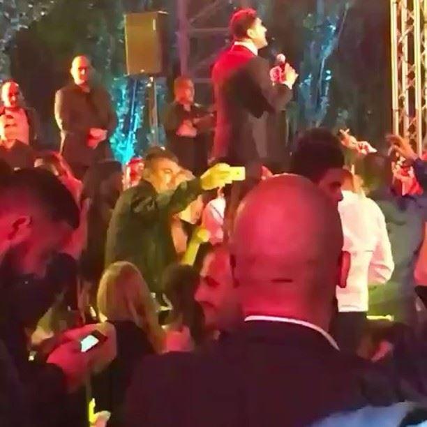 الملك في مهرجان le close de faqra waelkfoury_news @waelkfoury