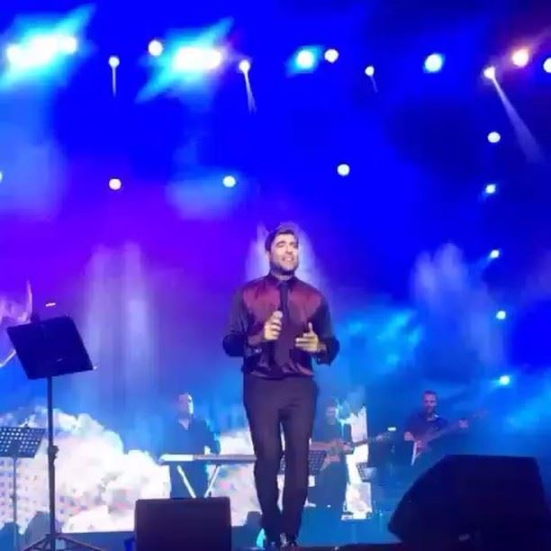 the king wael kfoury at beirut festival @waelkfoury waelkfourynews