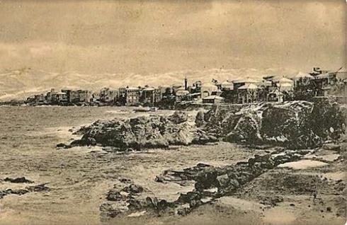 شباط 1920, بيروت تحت الثلج