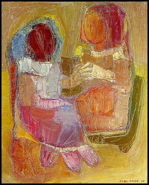 Paul Guiragossian painting from (1962)