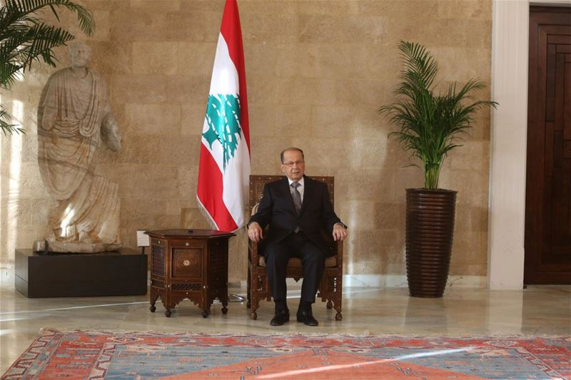 Our President On its Chair (Baabda)