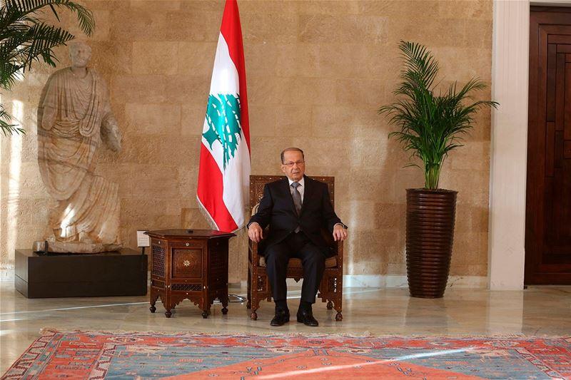Lebanese president Michel Naim Aoun
