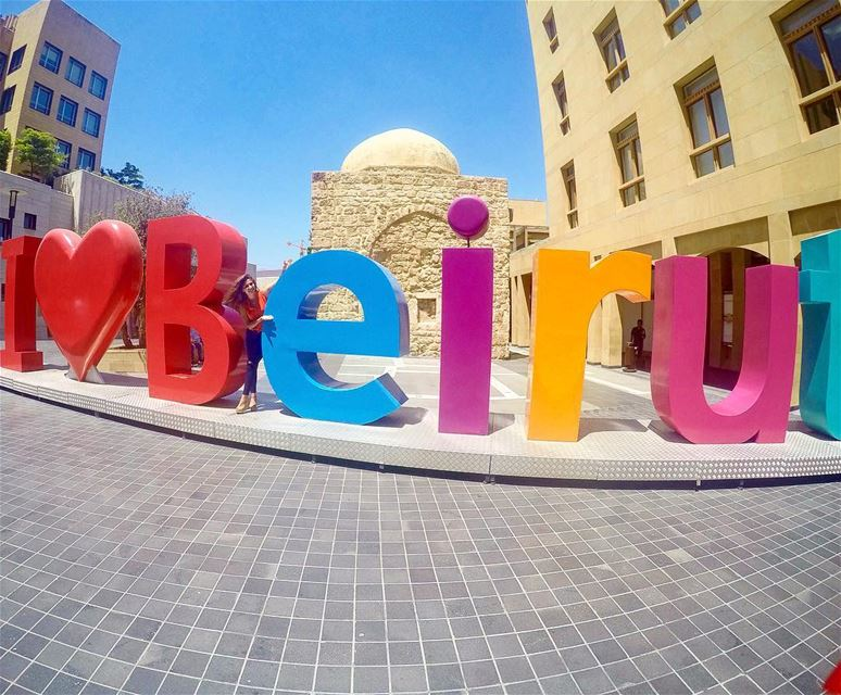 Happy and colorful  in DownTown  (Beirut Souks - Downtown Beirut)