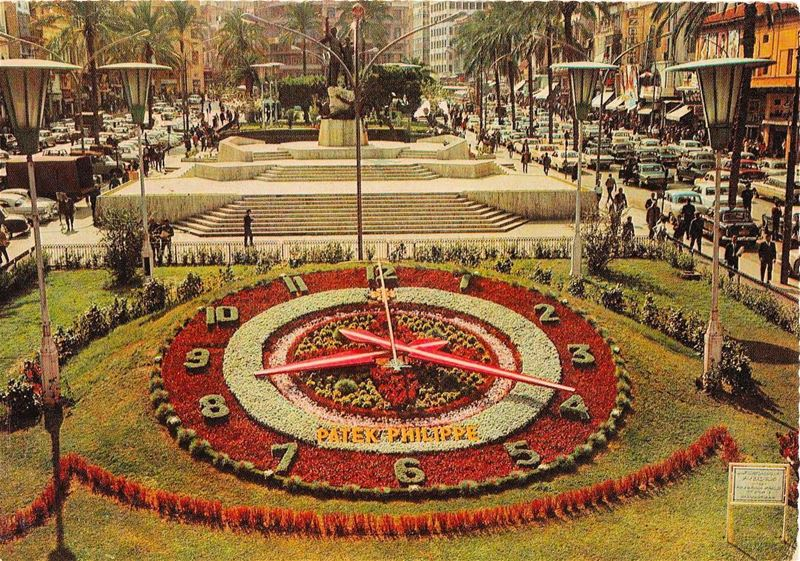 Beirut Martyrs Square in 1972 .(Beirut)