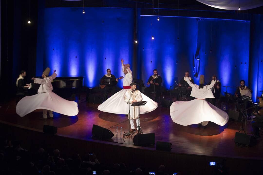 Sufi meditation dance