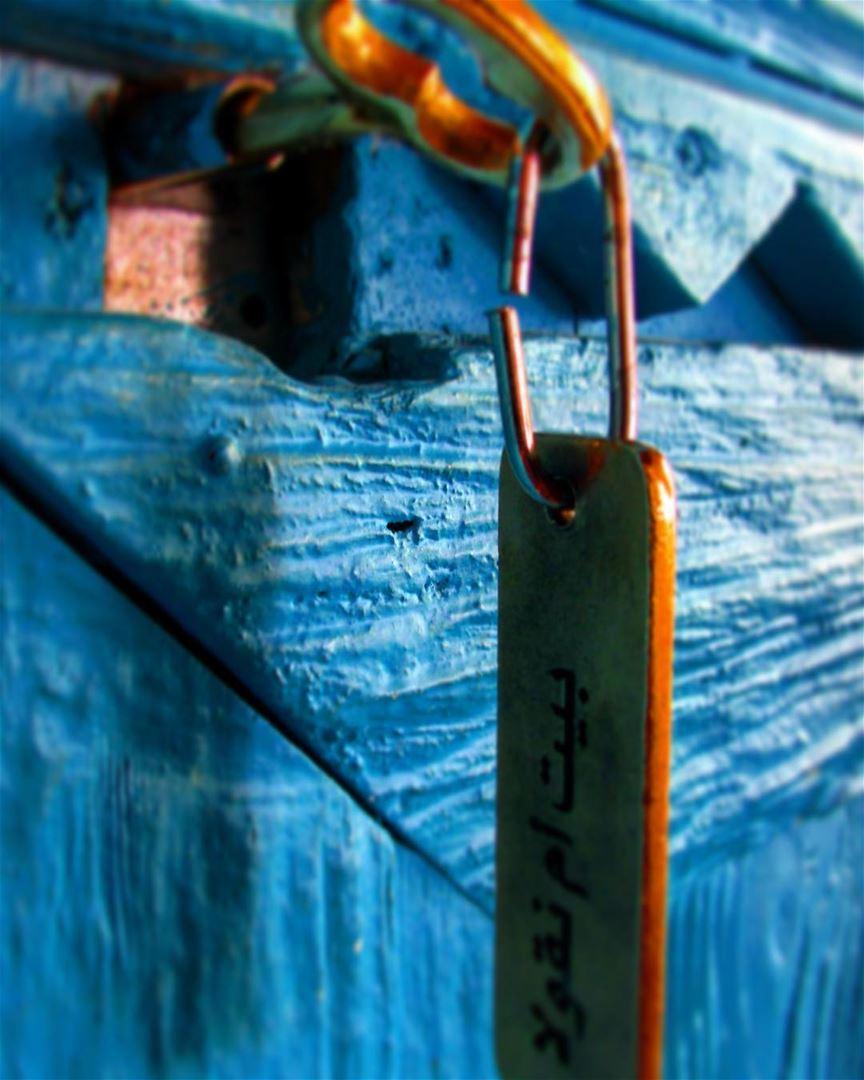 One-of-a-kind key that unlocks the door (Ecolodge Tanaïl)