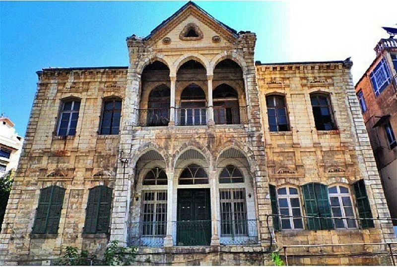 Old Building In Zahle (Zahle City)