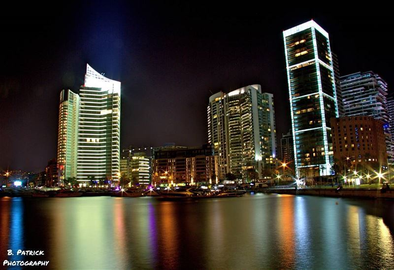 Zeituna Bay at Night (Zeituna Bay, Beirut, Lebanon)