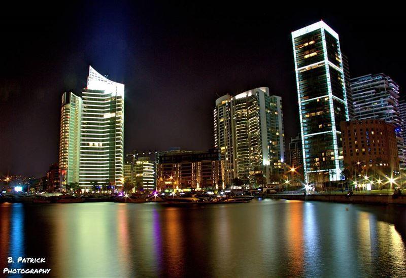 Zeituna Bay at Night (Zeituna Bay, Beirut, Lebanon)