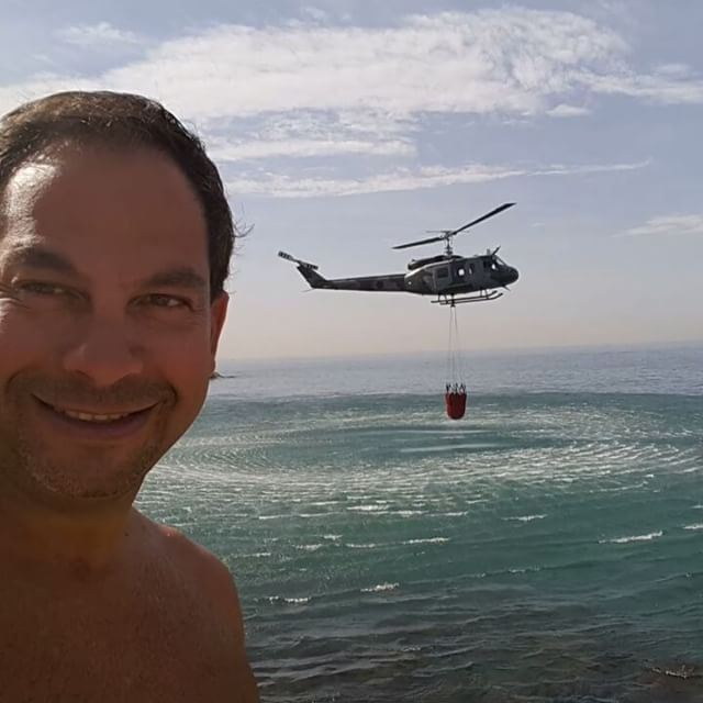 "Selfie and ""The Lebanese Army Helicopter"" khalfiii (Solemar, Kaslik)"