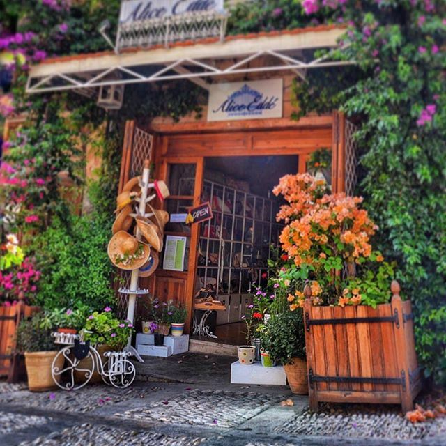 """""""It's the little charming places you find 💐 livelovebyblos by @sara_eldana"""