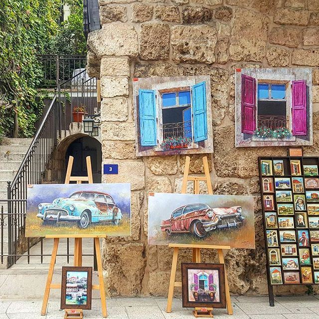 """Beautiful artwork livelovebyblos by @charbel_khoury"