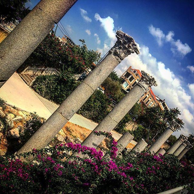 """""""The ruins of many successive civilizations are found at Byblos, one of the oldest Phoenician cities... Now a UNESCO world heritage site"""