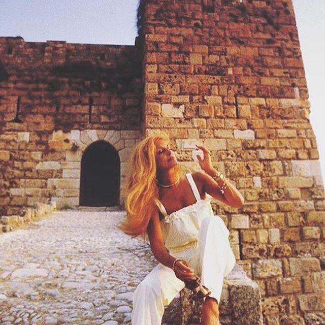 Dalida a Byblos en 1980