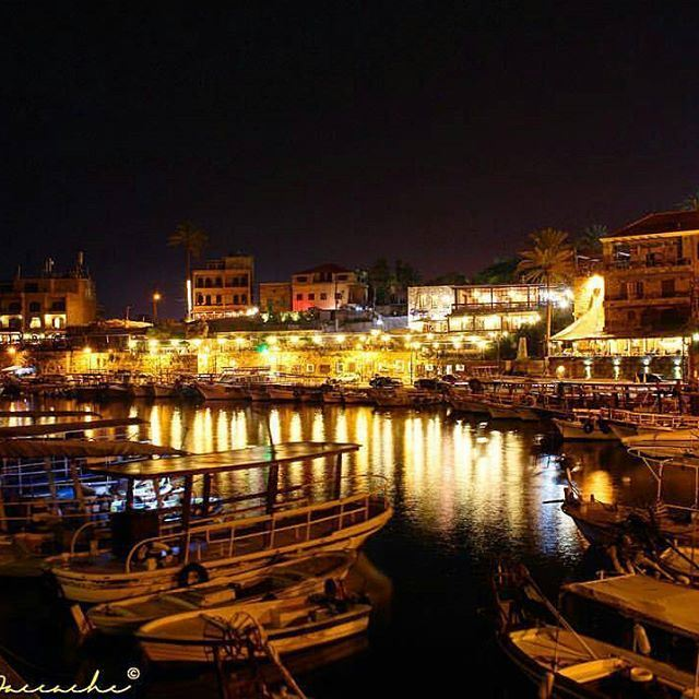 The charming harbor of Byblos ❤️ It is not the oldest continuously inhabited city in the world for nothing 💫