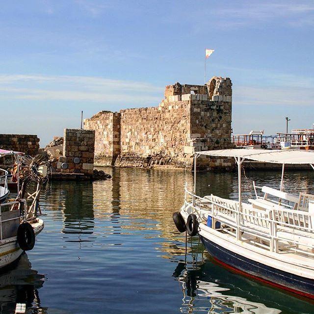 Old port of Byblos