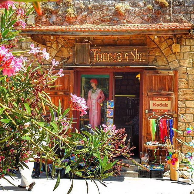 """""""The old city of Byblos shelters a souk (market in Arabic) extremely popular for its souvenirs and antiques."""