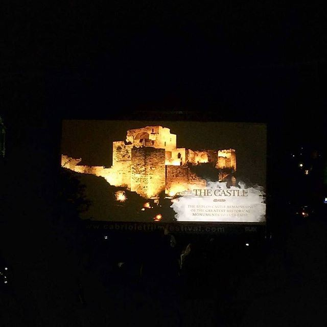 """""""Cabriolet Film Festival for the 3rd consecutive year in Byblos! On August 10 & 11 at 8 pm in the Roman Alley! Open Air Event, Free Entrance & Transportation from Beirut."""