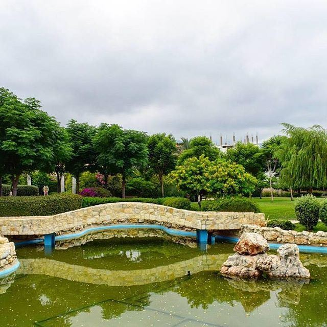The green side of Byblos.. Wagonpark