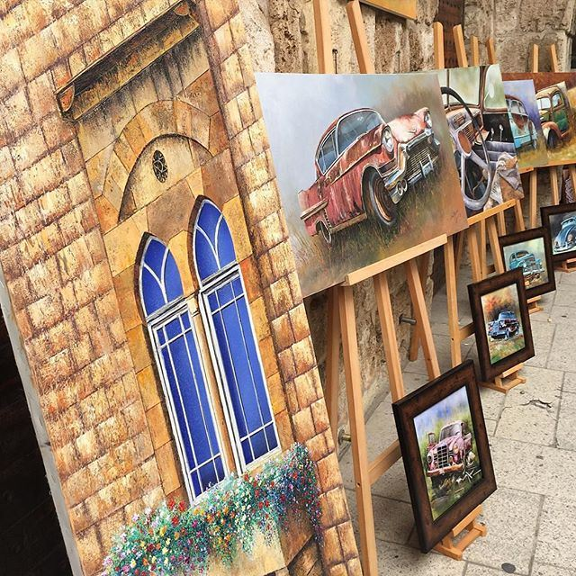 Byblos through an artist eyes