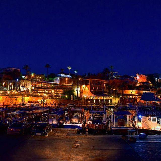 Byblos by night...