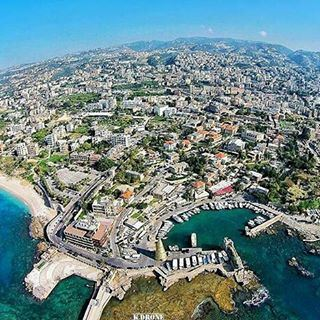Jbeil from above.. livelovebyblos by @antoine.gkhoury