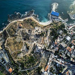 Good morning Byblos! thousands of years of history lay beneath our eyes.