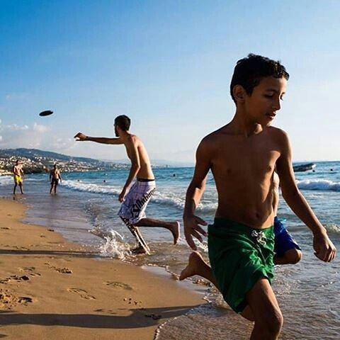LIFE is where the sun is and the sun always shining on the Lebanese shores of the Mediterranean sea..