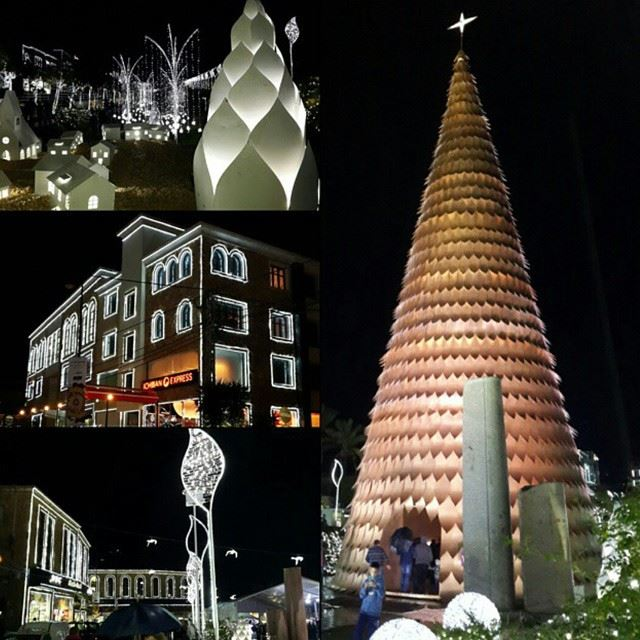 Byblos is ready for Christmas!!!! Wouhouuuu