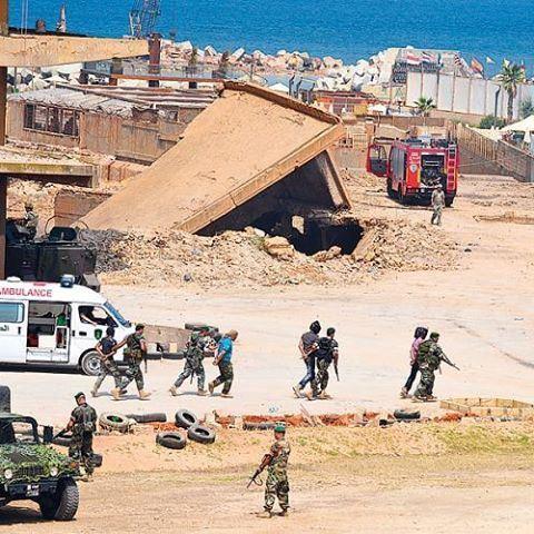 مناورات الجيش اللبناني ✌️