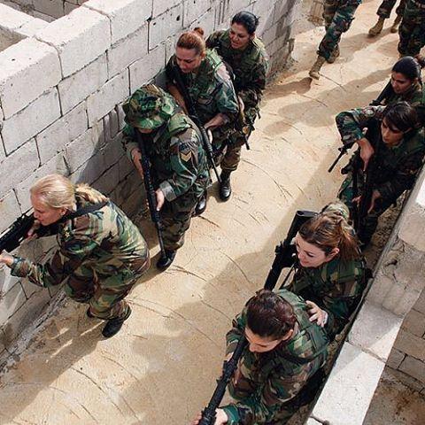 تدريب إناث الجيش اللبناني ✌️🇱🇧