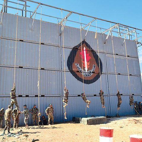 تدريب القوات الخاصة في الجيش اللبناني ✌️🇱🇧