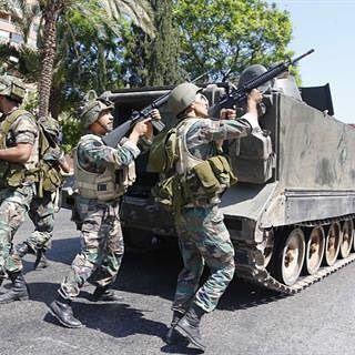 الجيش اللبناني يخوض معاركه. ✌️🇱🇧