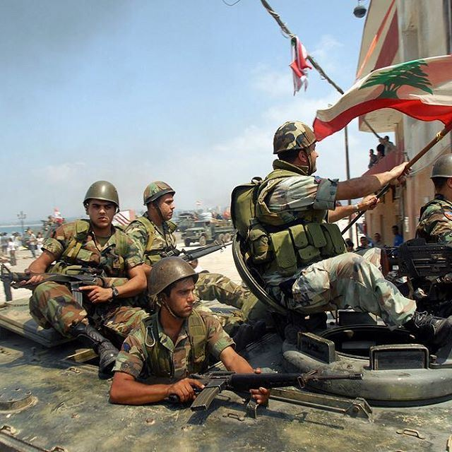 الجيش اللبناني لم و لن يعرف طعم الهزيمة ✌️🇱🇧