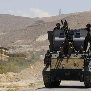 الجيش اللبناني في عرسال ✌️🇱🇧 الله ينصركن