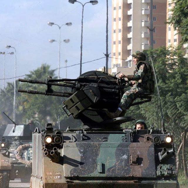 اطلق نيراك لا ترحم فالجيش اللبناني لن يهزم✌️🇱🇧
