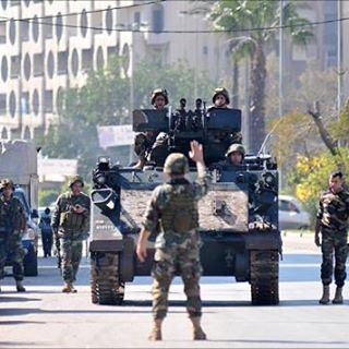 الجيش اللبناني موجود في الساح ✌️🇱🇧