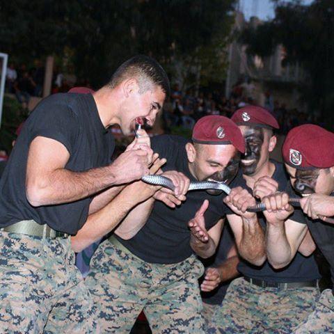 فوج المغاوير في الجيش اللبناني🇱🇧✌️ لبناناكلالشراسةwildstrongالمغاويرالقوةlebanonlebanese_armymilitary