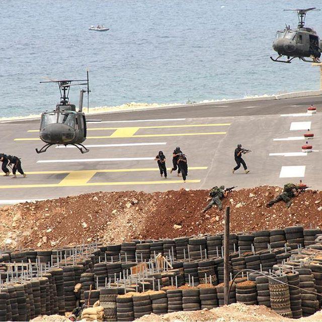 Lebanese army training ⚓️ lebanonarmymilitarytraining